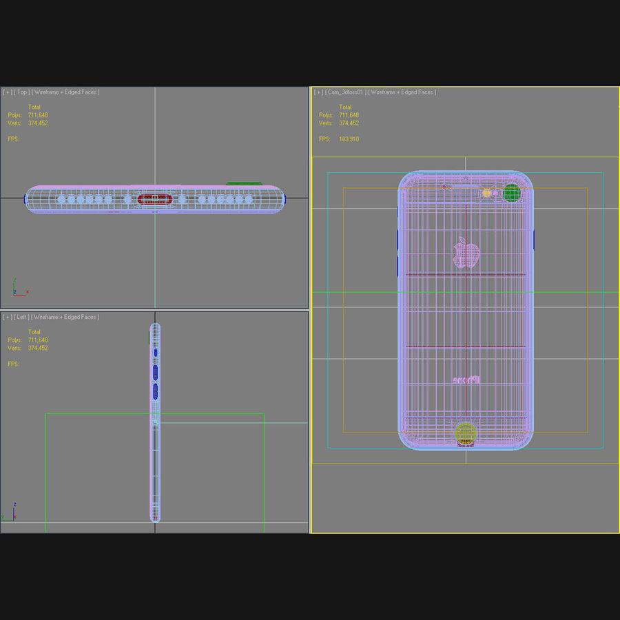Apple iPhone 8 Gümüş royalty-free 3d model - Preview no. 45
