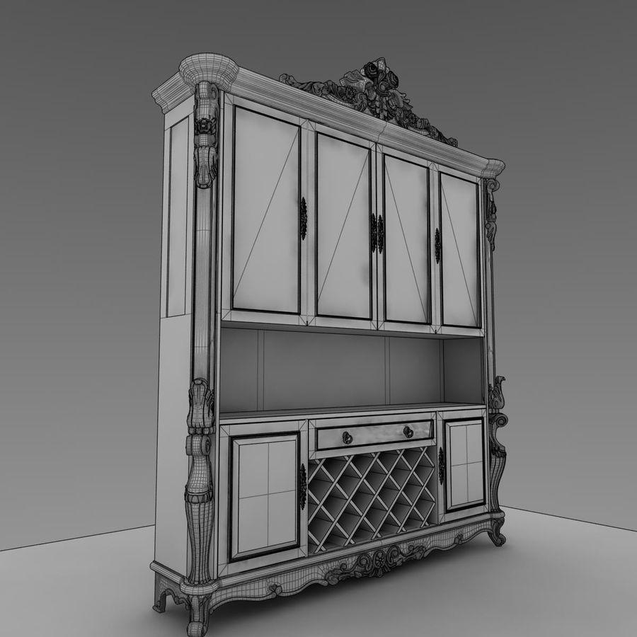 内阁 royalty-free 3d model - Preview no. 6