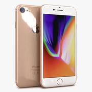 苹果iPhone 8金 3d model