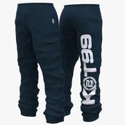 时尚裤子/裤子 3d model