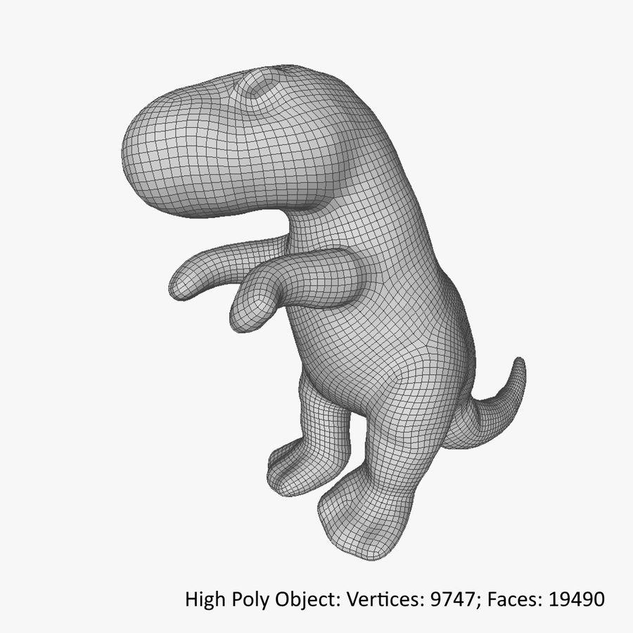 Doldurulmuş Hayvan Dinozor - Taranan royalty-free 3d model - Preview no. 13