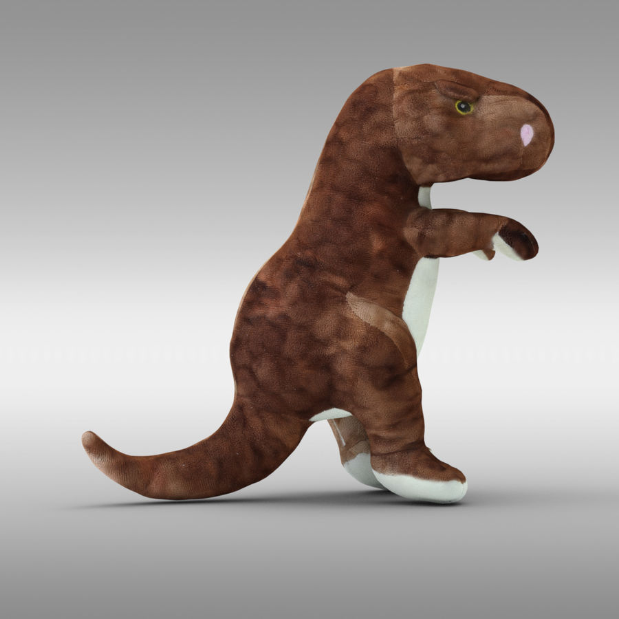Doldurulmuş Hayvan Dinozor - Taranan royalty-free 3d model - Preview no. 6
