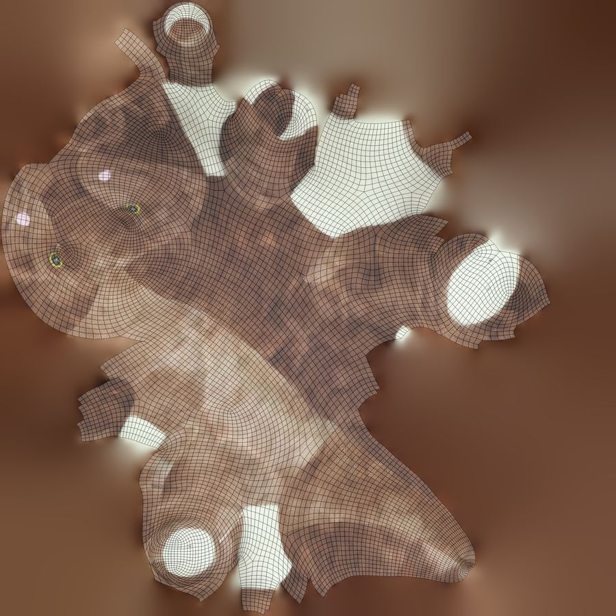 Doldurulmuş Hayvan Dinozor - Taranan royalty-free 3d model - Preview no. 10