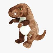 Wypchane zwierzę dinozaur - skanowane 3d model