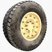 Humvee Wheel 3d model