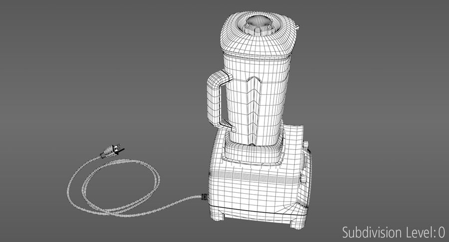 Blender royalty-free 3d model - Preview no. 16