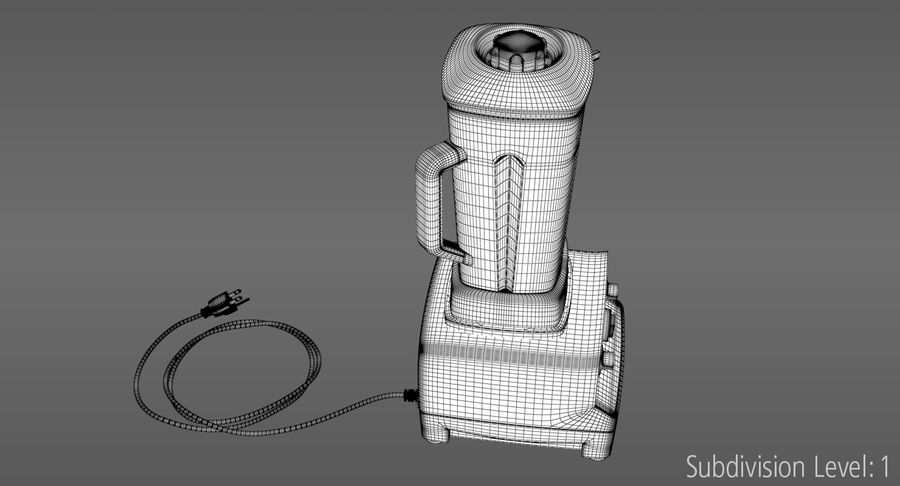 Blender royalty-free 3d model - Preview no. 15