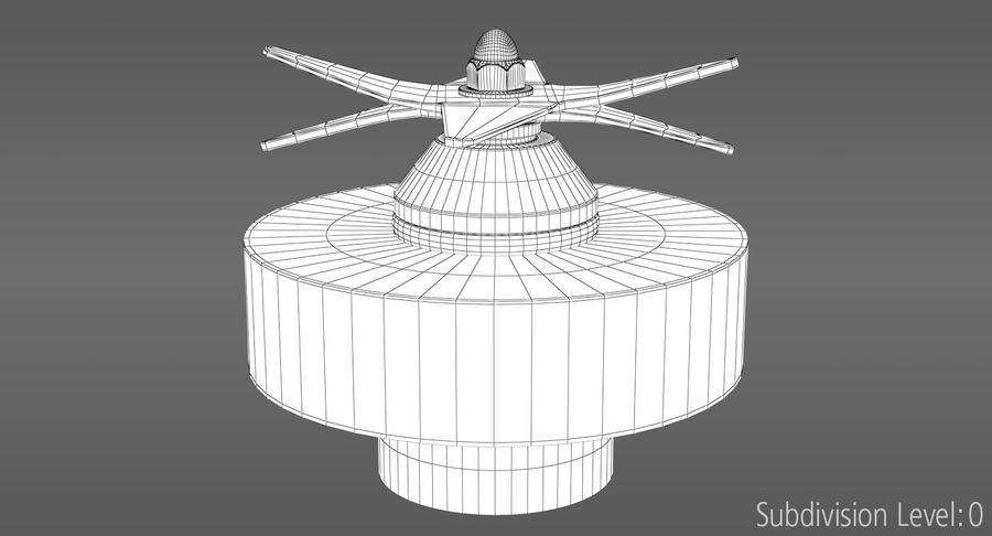 Blender royalty-free 3d model - Preview no. 28