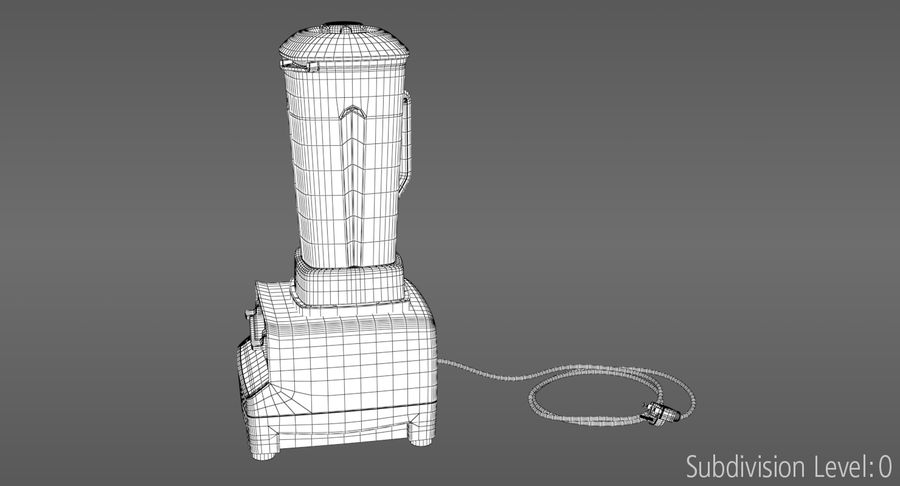 Blender royalty-free 3d model - Preview no. 18