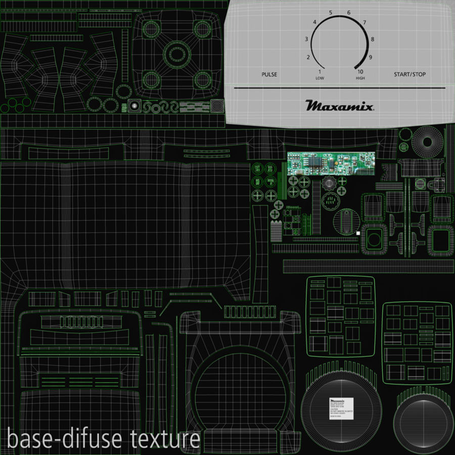 Blender royalty-free 3d model - Preview no. 29