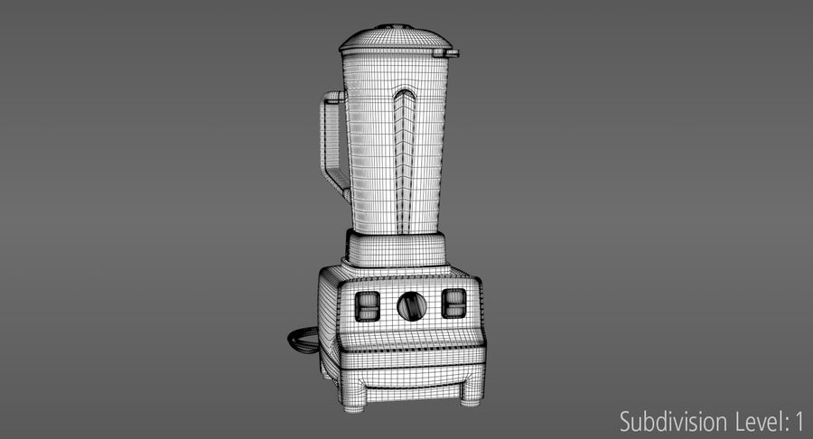 Blender royalty-free 3d model - Preview no. 13