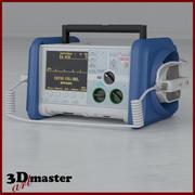 Medical Defibrillator 3d model