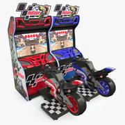Moto Arcade Machine 3d model