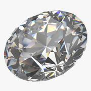 璀璨钻石切割 3d model