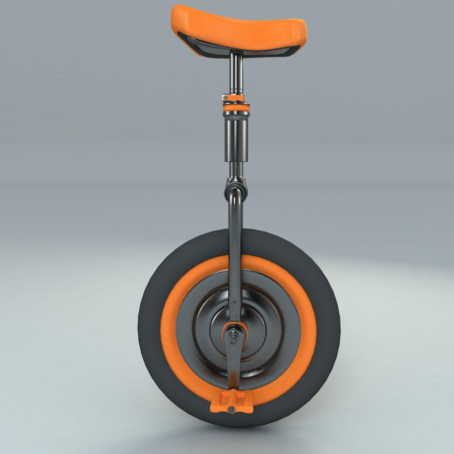 一輪車 royalty-free 3d model - Preview no. 4