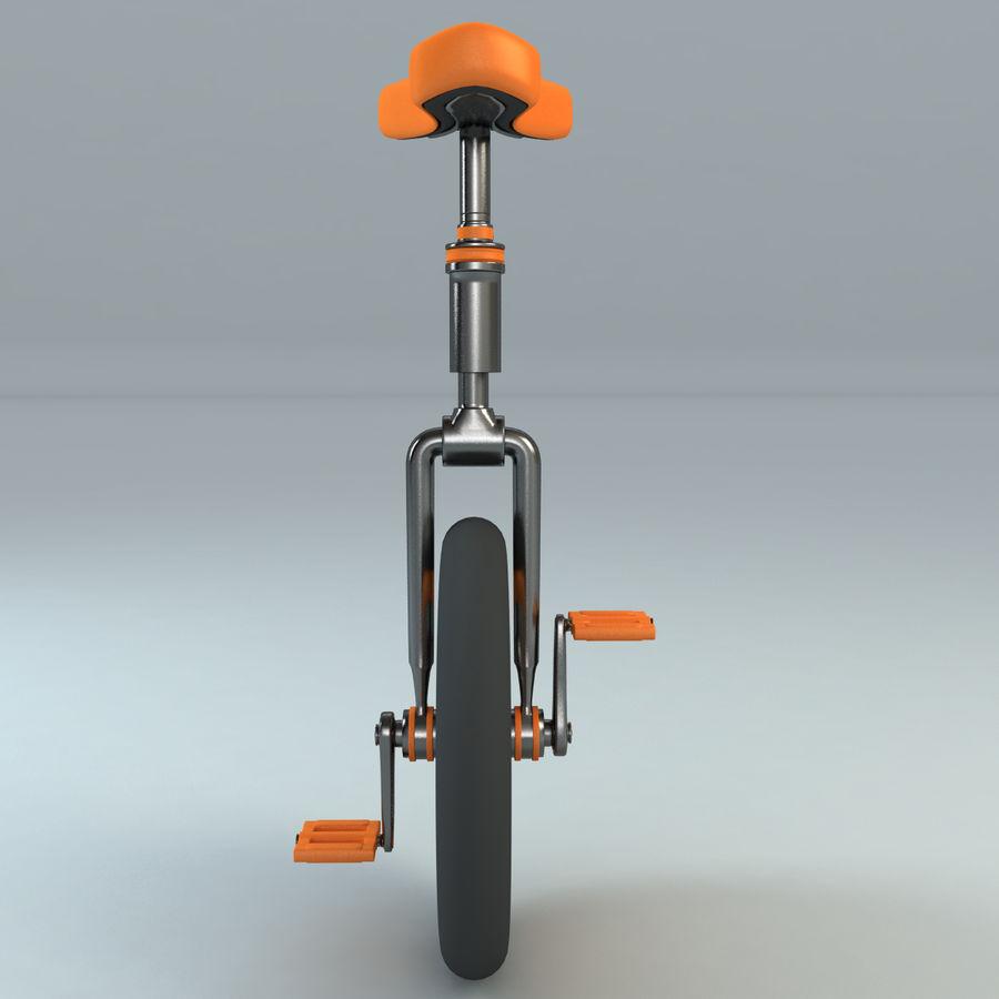 一輪車 royalty-free 3d model - Preview no. 5