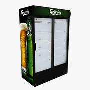 칼스버그 냉장고 슬라이딩 도어 3d model