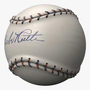 Stylized Babe Ruth Baseball 3d model