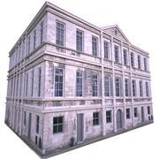 Old European House Paris 3d model