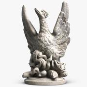 Escultura Fénix el Pato modelo 3d