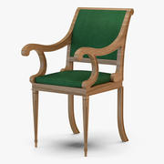 Klassisk stol 3d model