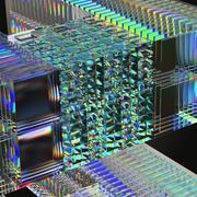 Optical Glass Sculptures 3d model