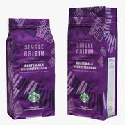 Kaffee-Verpackung Guatemala 3d model