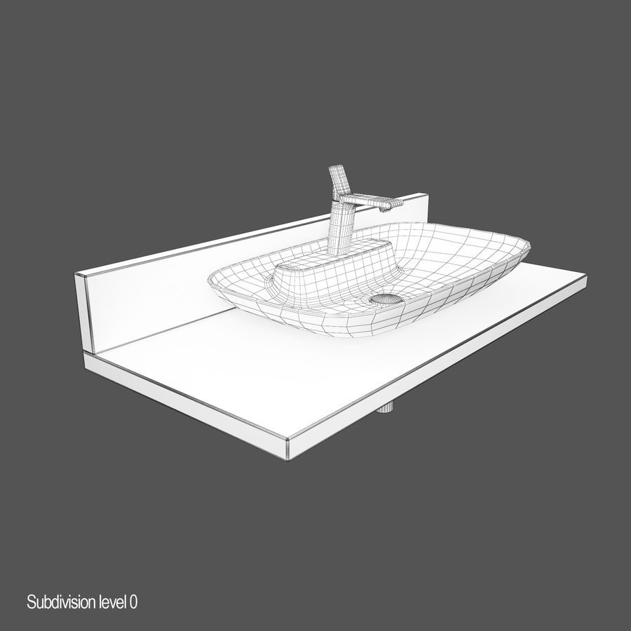 维特拉回忆水槽 royalty-free 3d model - Preview no. 8