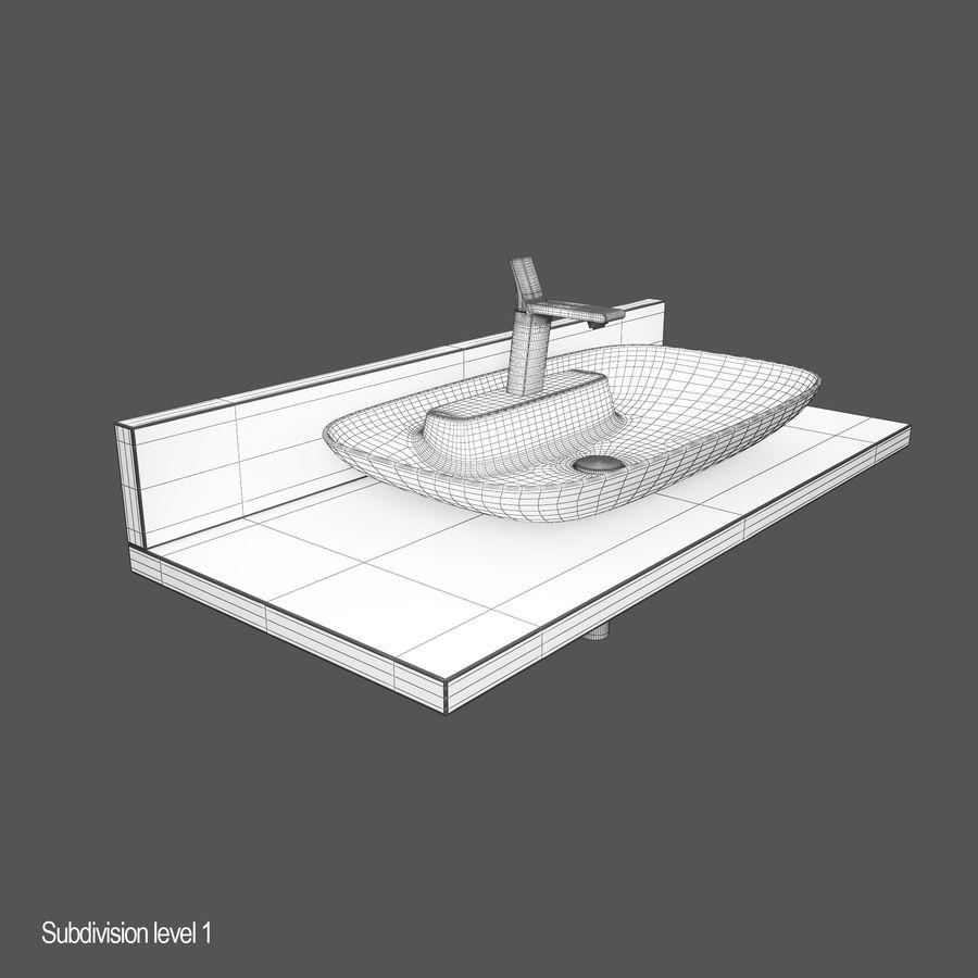 维特拉回忆水槽 royalty-free 3d model - Preview no. 9