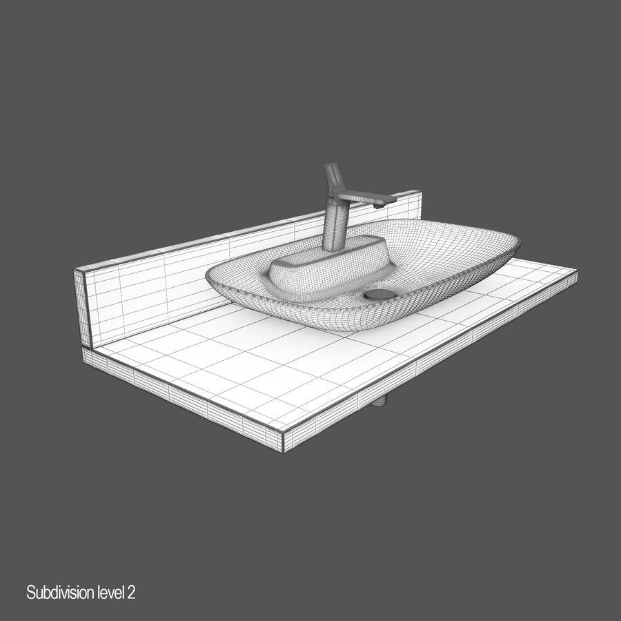 维特拉回忆水槽 royalty-free 3d model - Preview no. 10