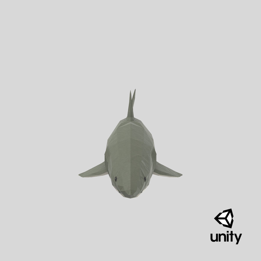 Shark Onward royalty-free 3d model - Preview no. 1