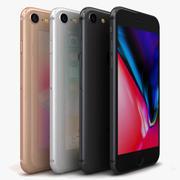 Apple iPhone 8オールカラー 3d model