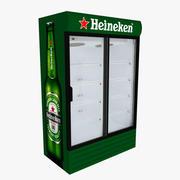 하이네켄 냉장고 슬라이딩 도어 3d model