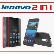 Lenovo Cellphones Collection 3d model
