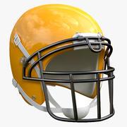 Casco da football americano 3d model