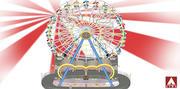 Giant Ferris Wheel 3d model