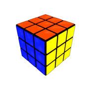 Rubiks cube 3d model