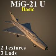 MIG21U Basic 3d model