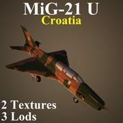 MIG21U HOR 3d model