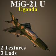 MIG21U UGA 3d model