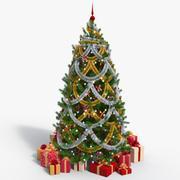 クリスマスツリー07 3d model