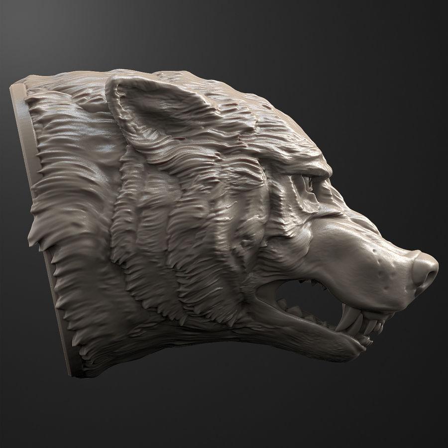 Kurt kafası royalty-free 3d model - Preview no. 5