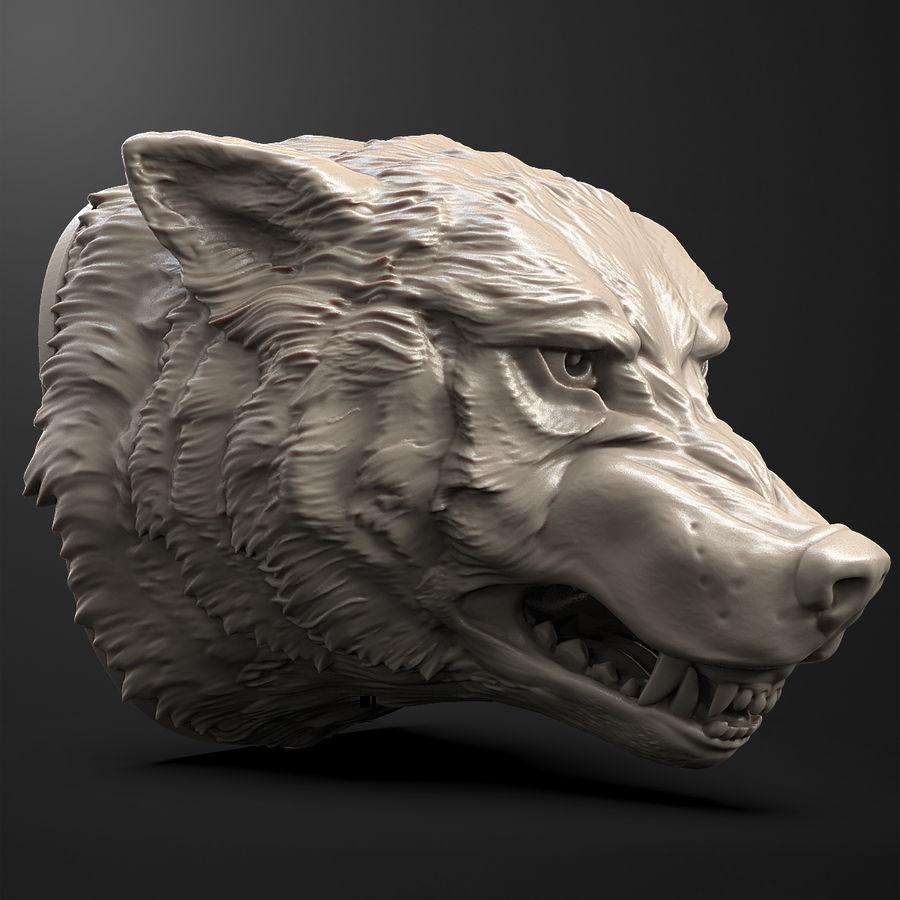 Kurt kafası royalty-free 3d model - Preview no. 4