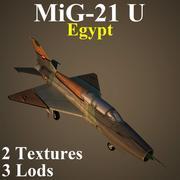 MIG21U EGP 3d model