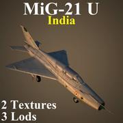 MIG21U IND 3d model