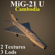 MIG21U KAM 3d model
