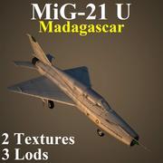 MIG21U MAD 3d model