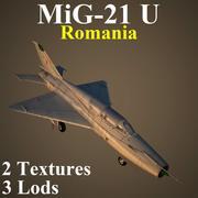 MIG21U RUM 3d model