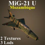 MIG21U MOZ 3d model