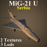 MIG21U SER 3d model